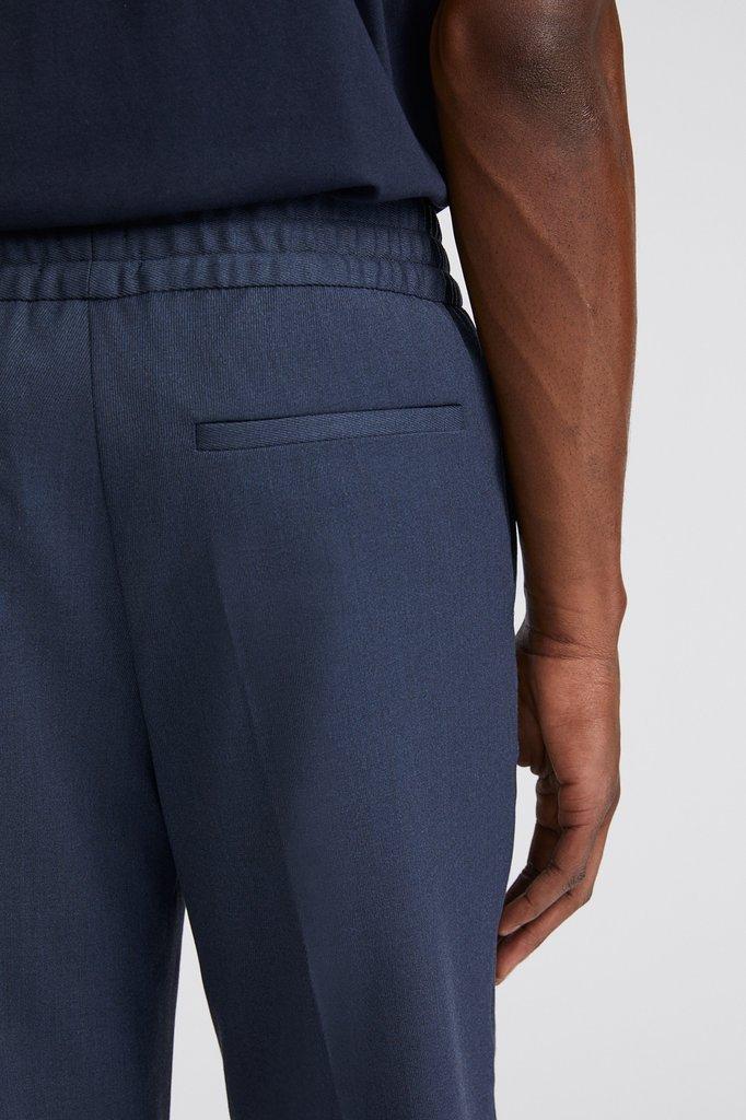 filippa k terry cropped pants - dark blue