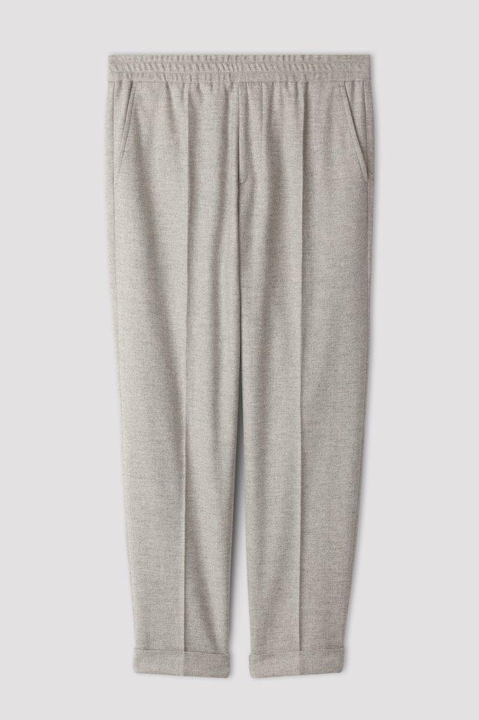 filippa k terry flannel pants - warm grey