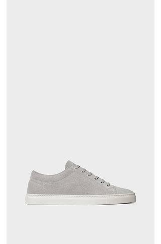 etq amsterdam lt 01 premium suede sneaker - ash
