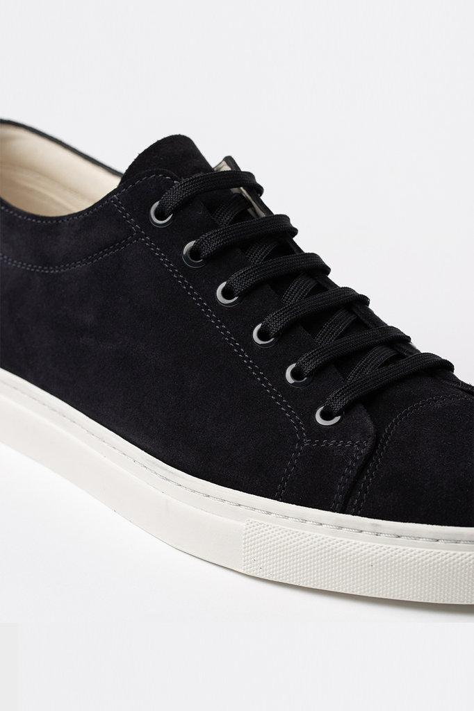 etq amsterdam lt 01 premium suede sneaker - navy