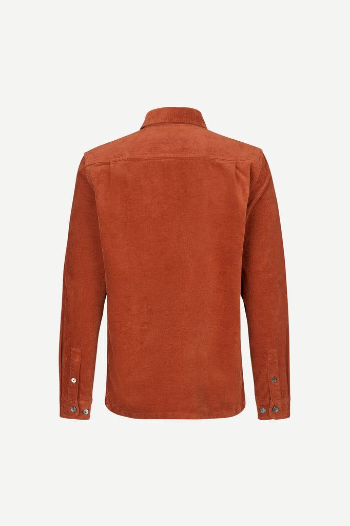 samsoe samsoe taka jl 12964 shirt - brandy brown