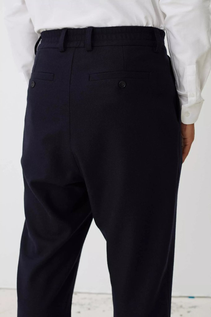 Libertine Libertine smoke pants - dark navy twill