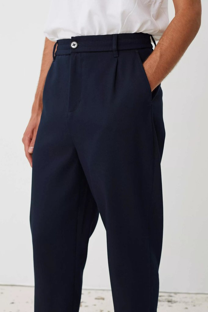 Libertine Libertine smoke pants - navy