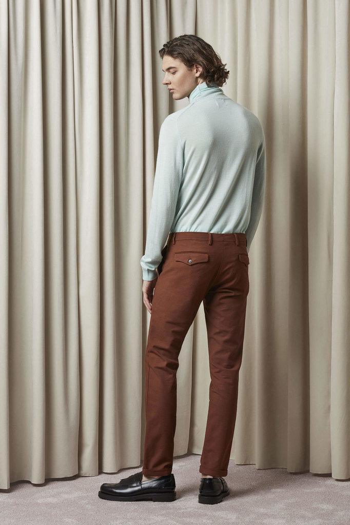 nn07 scott 1386 pants - canela brown