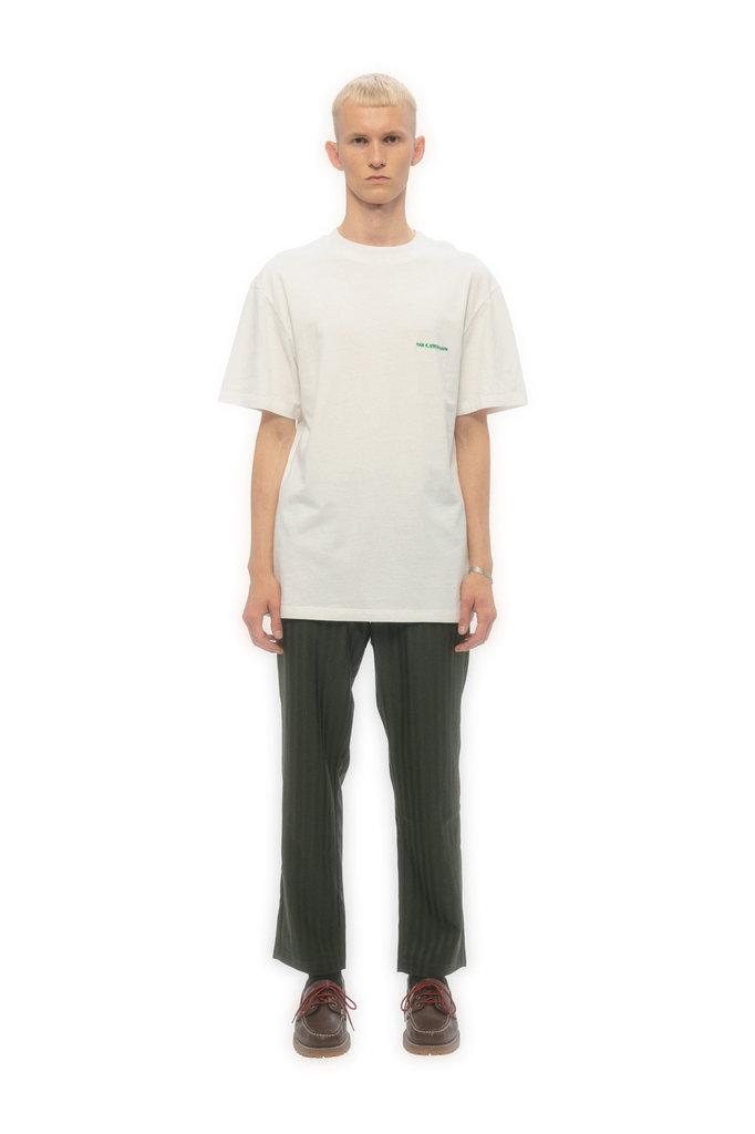 han kjobenhavn boxy tshirt - off white