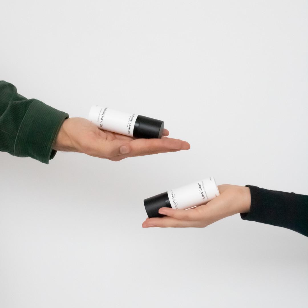 marie-stella-maris hand care set cleansing hand gel + hand wash 2x50