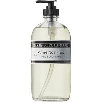 marie-stella-maris hand&body wash poivre noir frais - 470ml
