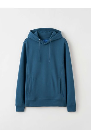 tiger of sweden dawes hoodie - pale dust blue