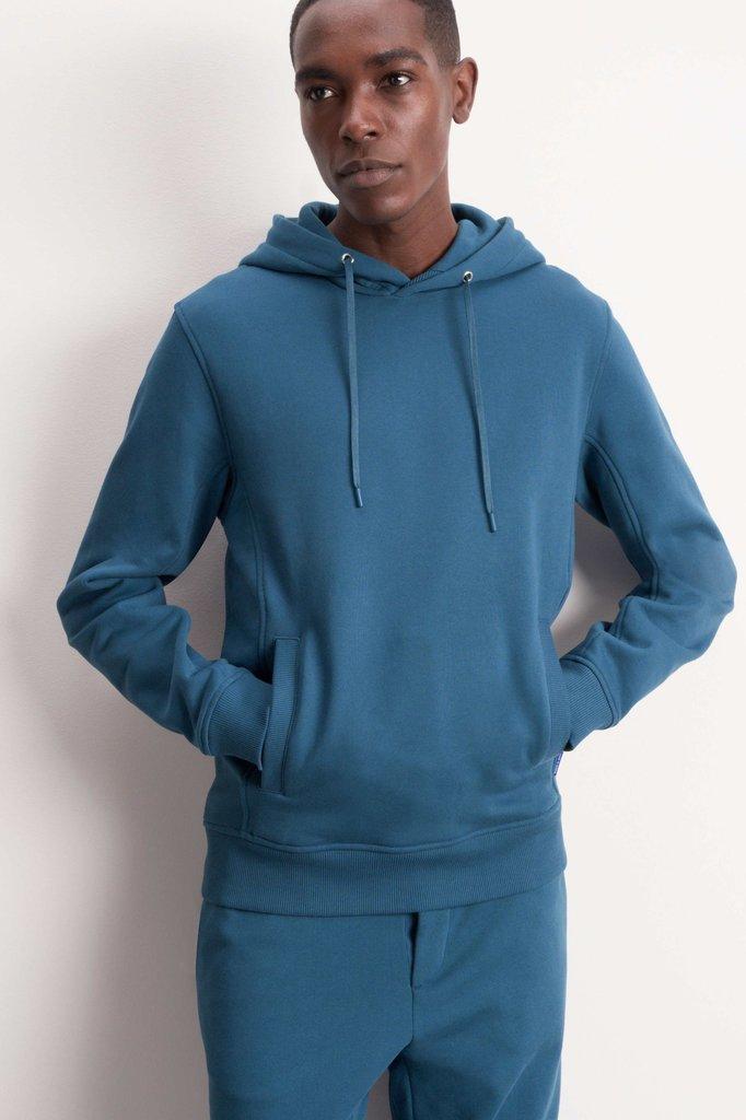 tiger of sweden dawes hoodie - pale dust blue