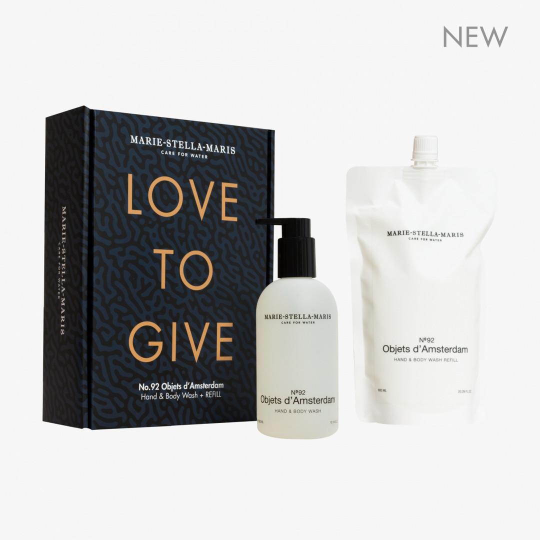 marie-stella-maris hand&body wash objets d'amsterdam | limited ed. refill 600+300