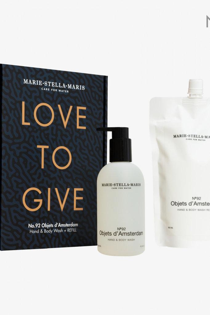 marie-stella-maris hand&body wash objets d'amsterdam   limited ed. refill 600+300