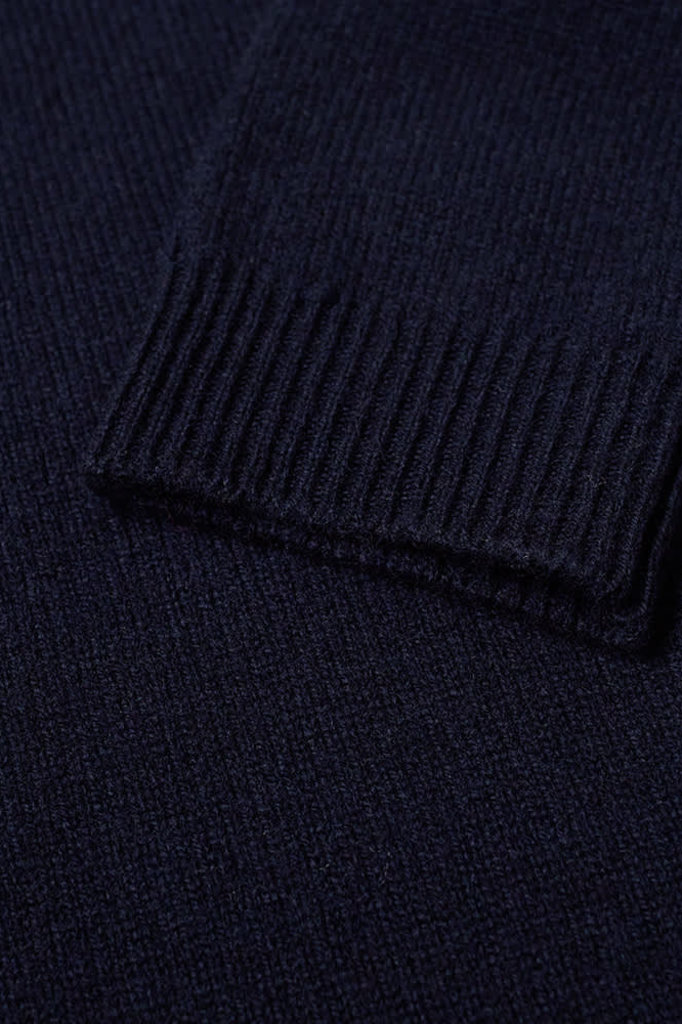 norse project sigfred lambswool knit - dark navy