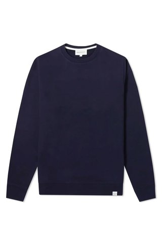 norse project vagn classic crew - dark navy