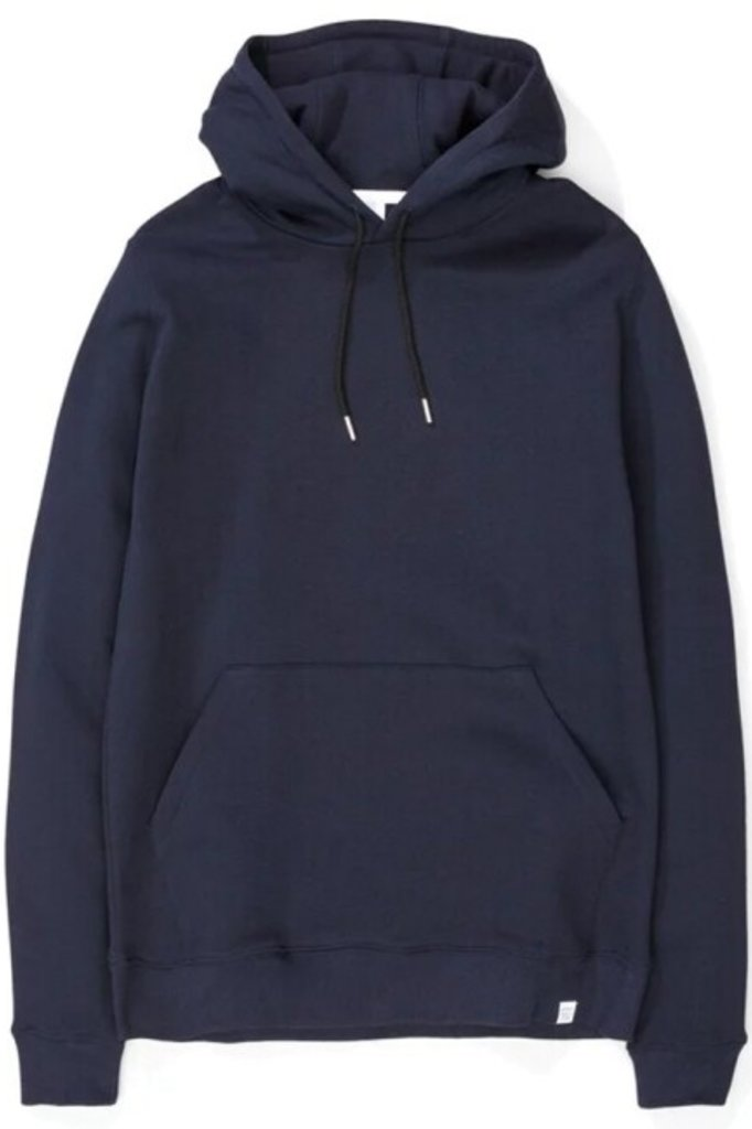 norse project vagn classic hoodie - dark navy