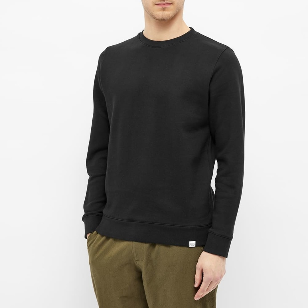 norse projects vagn classic crew - black