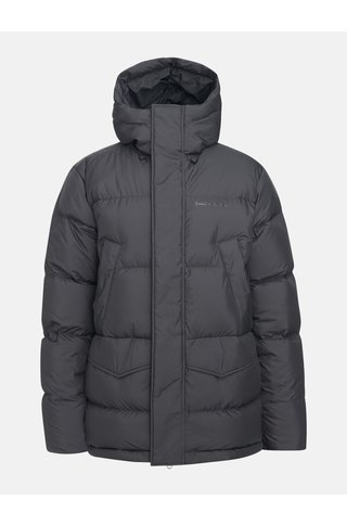 rivel parka - black