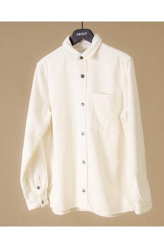 won hundred rex corduroy shirt - cannoli cream