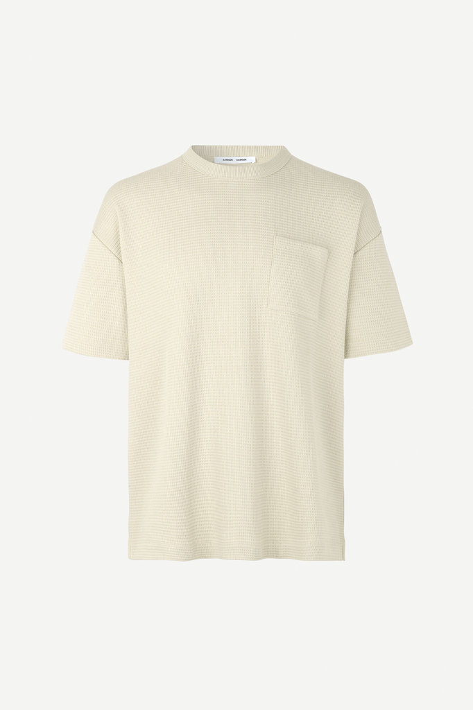 samsoe samsoe ratano 11583 tshirt - overcast
