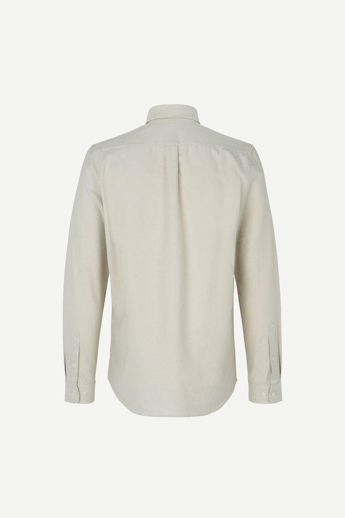 samsoe samsoe liam bx 11389 shirt - overcast