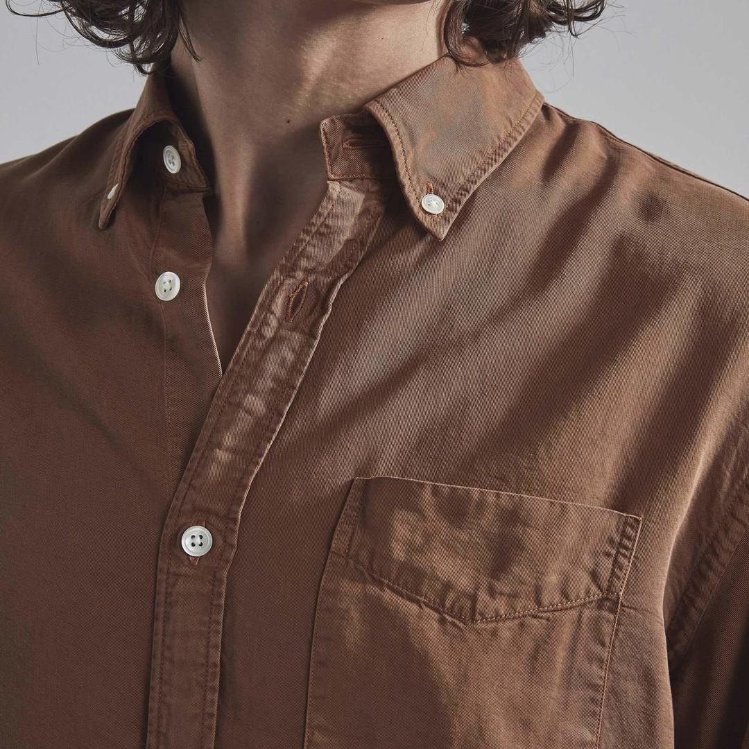 nn07 levon 5969 shirt - canela brown