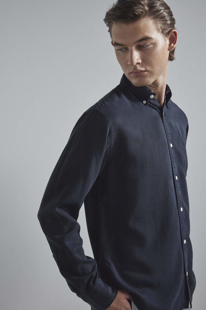 nn07 levon 5969 shirt - navy blue