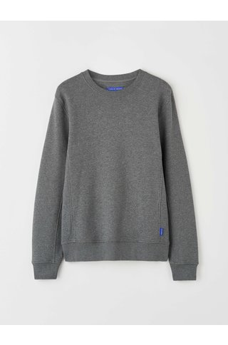 tiger of sweden malham sweat - medium grey melange