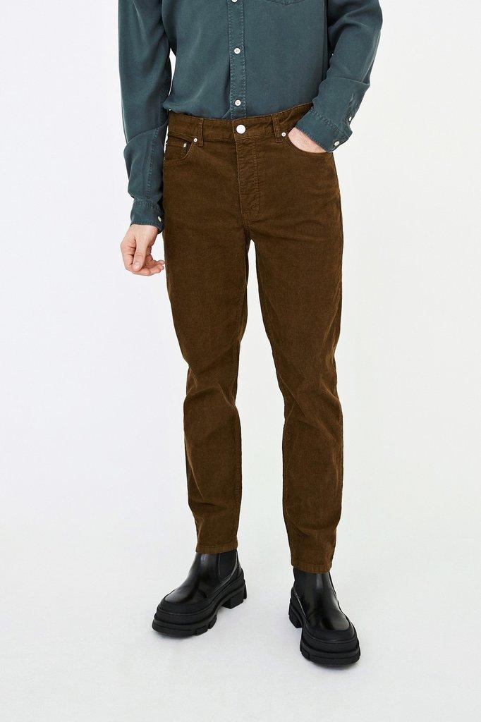 won hundred ben corduroy pants - teak