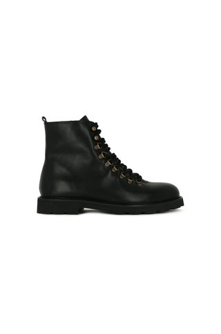 royal republiq tediq h.oxford combat boot - black