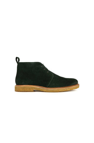 royal republiq cast c. suede chukka shoe - green