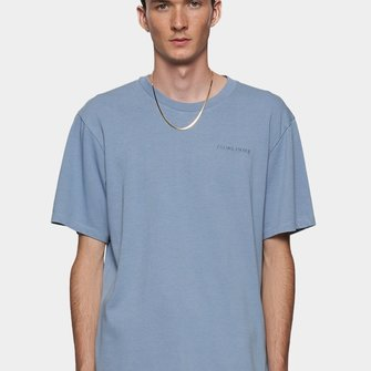 filling pieces essential core logo tee - light blue