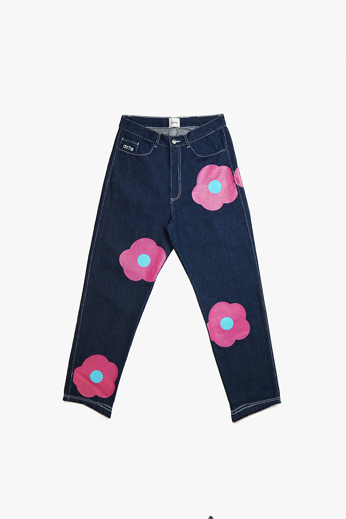 arte penny rosa jeans - navy pink