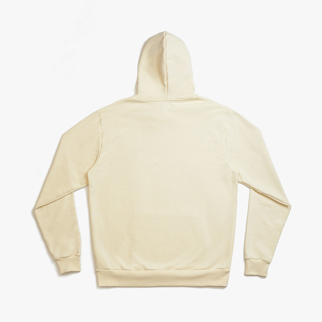 arte holden heart hoodie - creme
