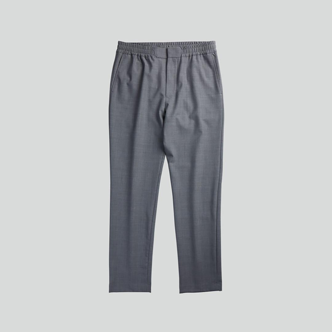 nn07 foss 1228 pants - grey melange