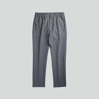nn07 foss 1228 pants - grey melange