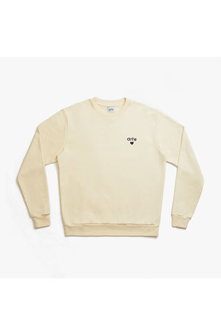 arte colson heart sweat - creme