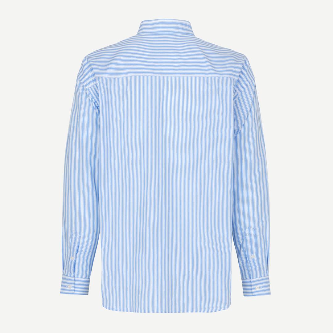 samsoe samsoe luan j 13072 shirt - dusty blue