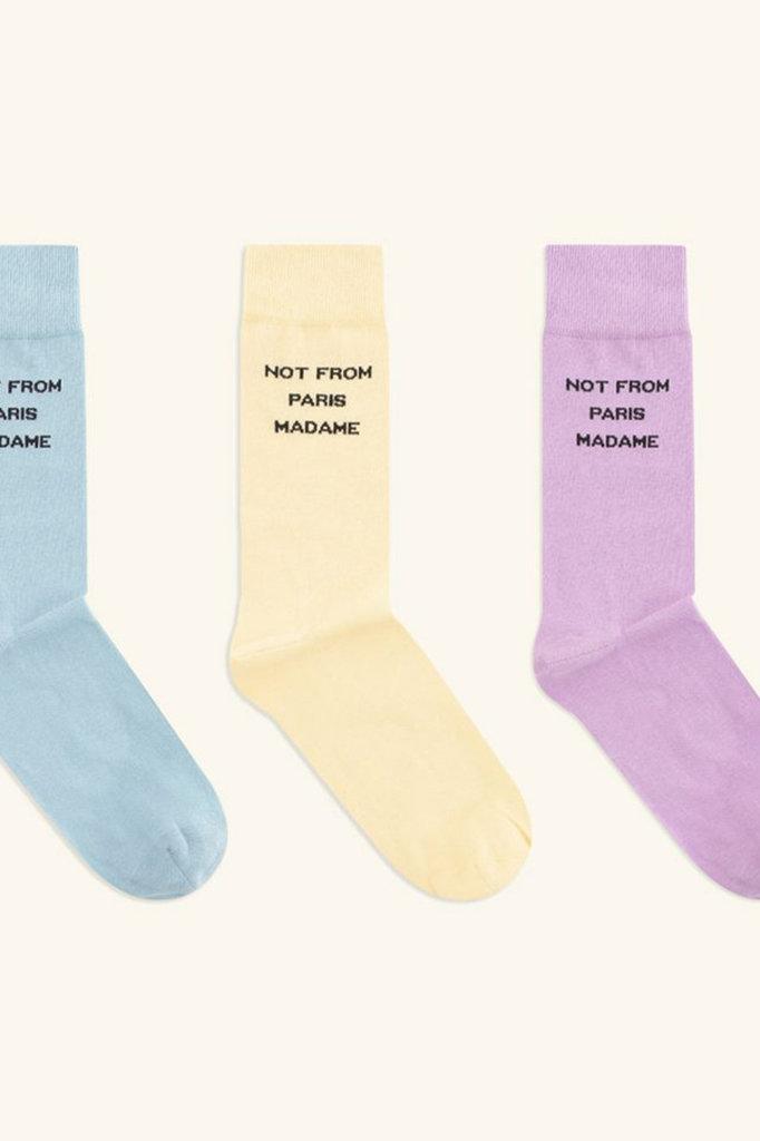 drôle de monsieur nfpm socks pack - multi color