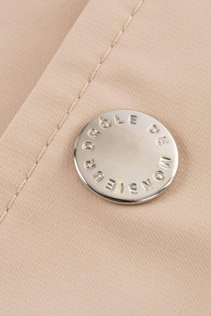drôle de monsieur nfpm jacket - beige