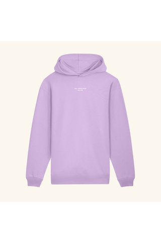 drôle de monsieur not from paris madame hoodie - purple