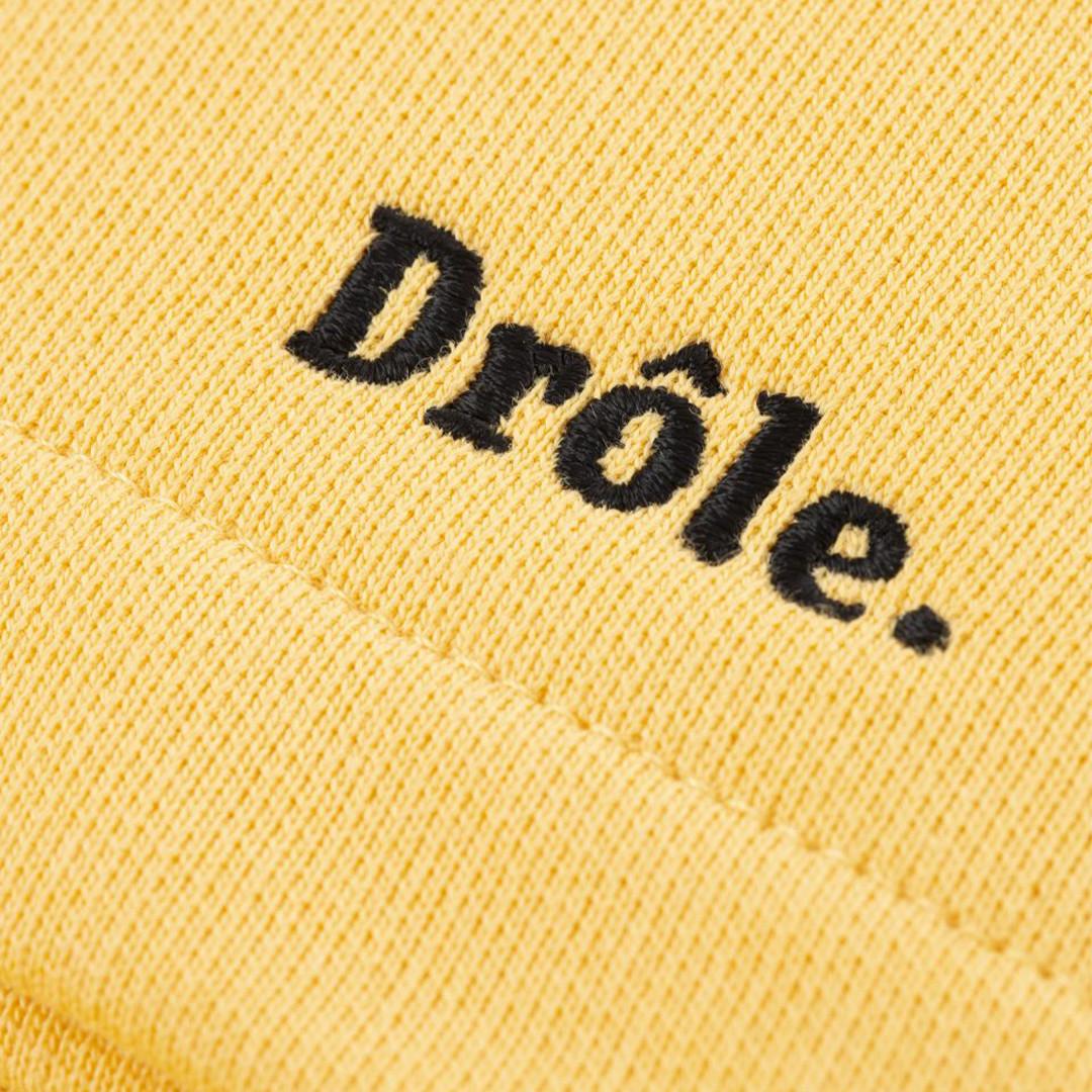 drôle de monsieur drôle short - yellow