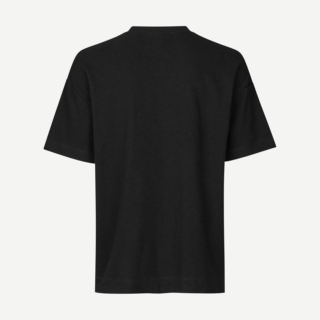 samsoe samsoe ratano 11411 tshirt - black