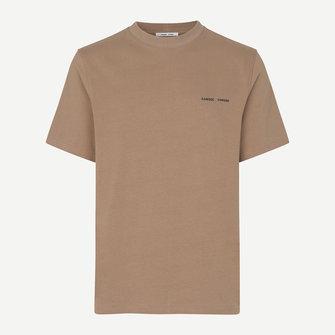 samsoe samsoe norsbro 6024 tshirt - caribou
