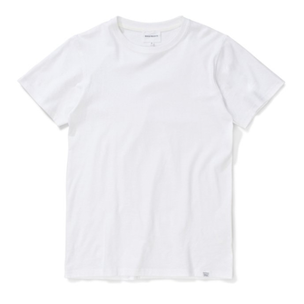 norse projects niels standard ss tshirt - white