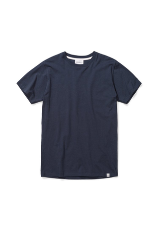 norse projects niels standard ss tshirt - dark navy
