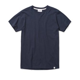 norse projects niels standard ss tshirt - dark navy