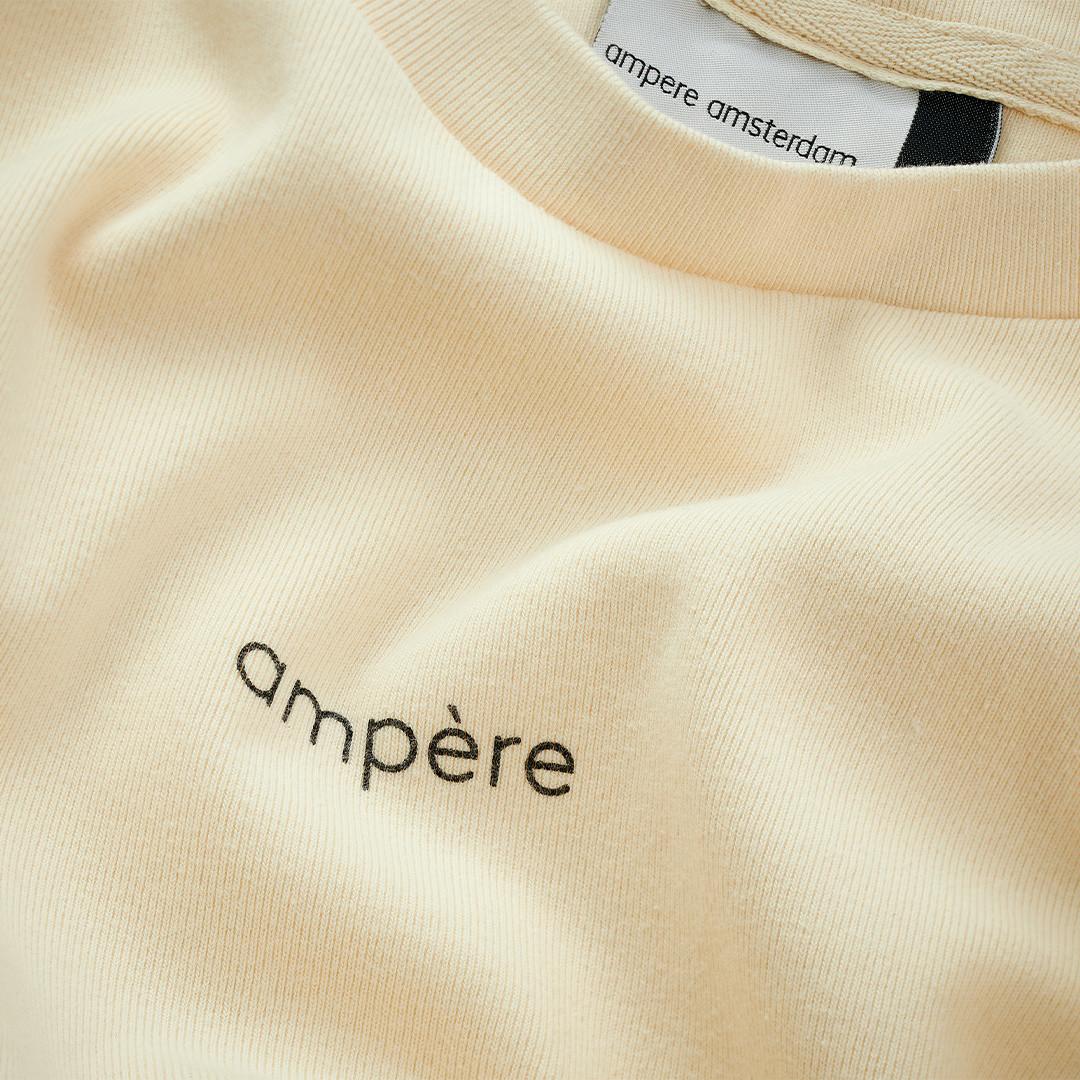 ampère thomas tee - off white