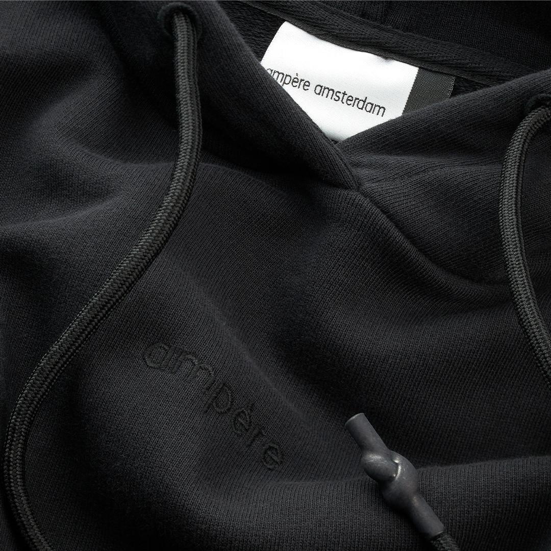 ampère samuel hoodie - black