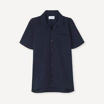 libertine libertine cave 2025 ss shirt - dark navy
