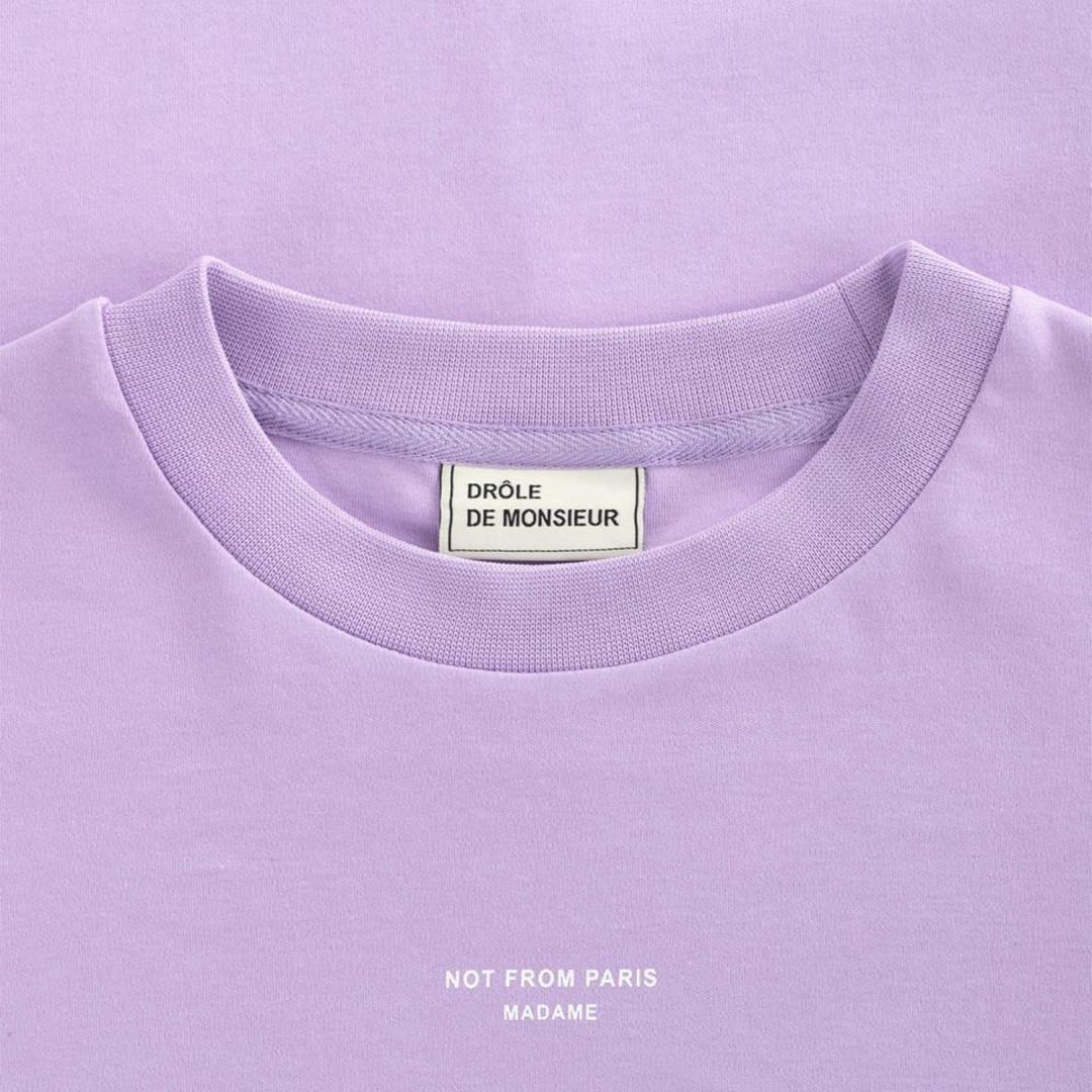 drôle de monsieur nfpm tshirt - purple