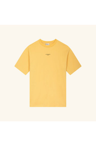 drôle de monsieur nfpm tshirt - yellow
